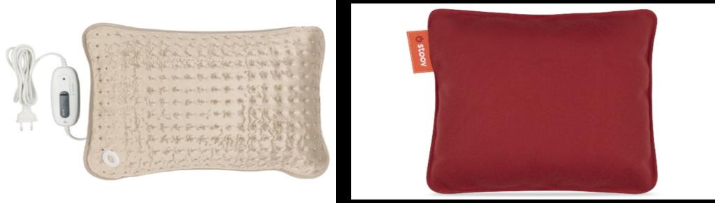 Stoov vs. traditionele warmtekussens