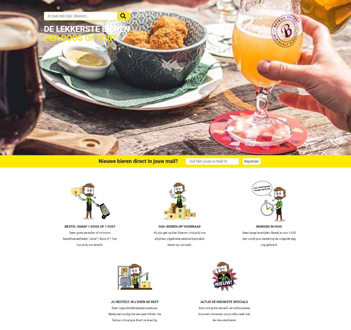 Van Bieren Homepage